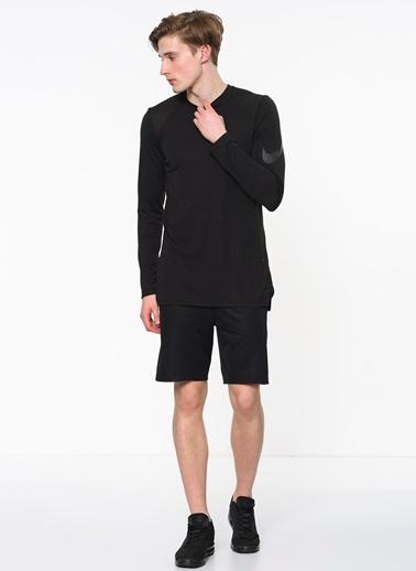 Nike Uzun Spor Sweatshirt Siyah